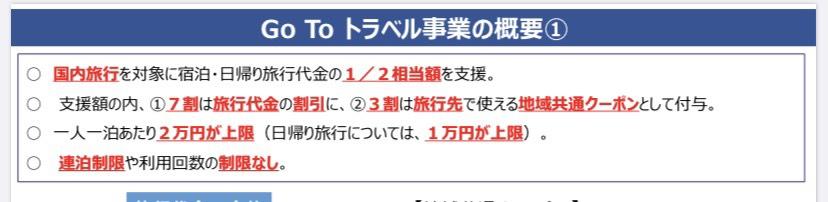 Go Toキャンペーン 申請
